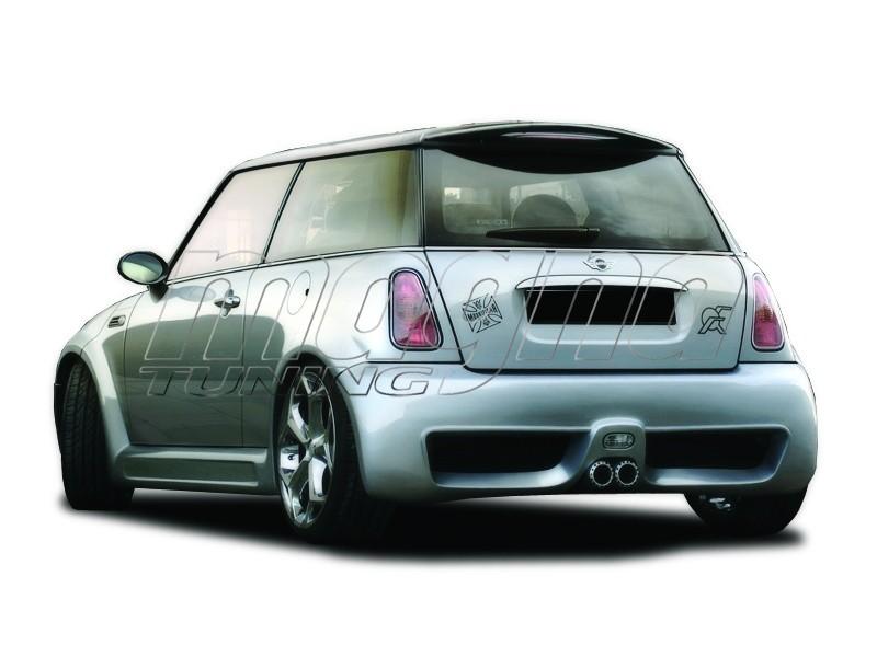Mini Cooper Colossus Wide Rear Bumper