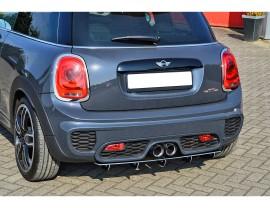 Mini Cooper MK3 JCW Intenso Rear Bumper Extension