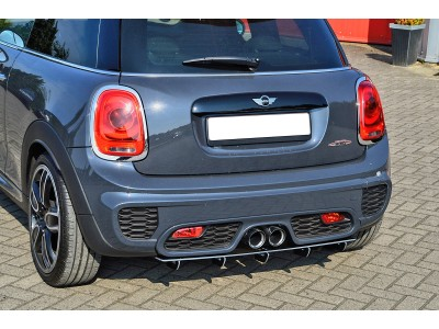 Mini Cooper MK3 JCW Intenso Rear Bumper Extension
