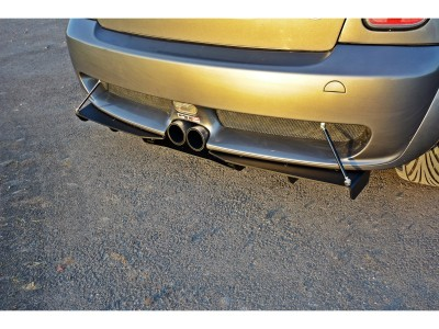 Mini Cooper R53 JCW Racer Rear Bumper Extension