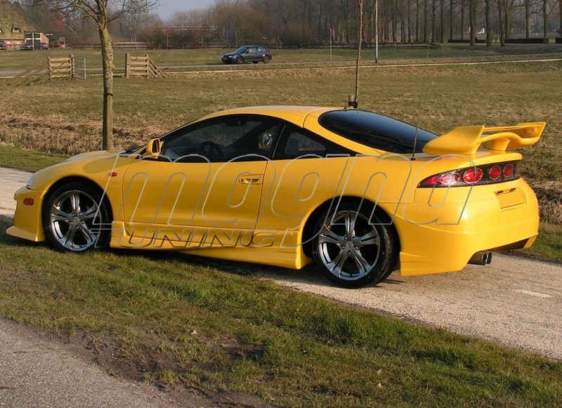 Mitsubishi Eclipse Boost Body Kit Picture on 2g Eclipse Front