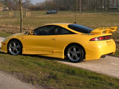 Mitsubishi Eclipse Extreme Side Skirts