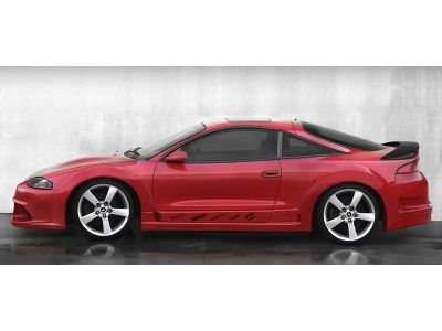 Mitsubishi Eclipse Reckless Wide Front Wheel Arch Extension