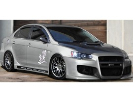 Mitsubishi Lancer 10 Sonic Side Skirts