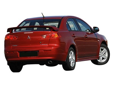 Mitsubishi Lancer 10 Sport Rear Wing