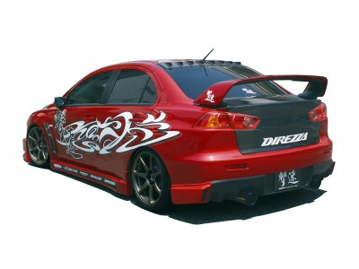 Mitsubishi Lancer EVO 10 HT Rear Bumper Extension