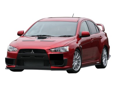 Mitsubishi Lancer EVO 10 Japan-Style Front Bumper Extension