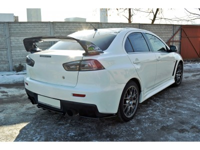 Mitsubishi Lancer EVO 10 MX Rear Bumper Extension