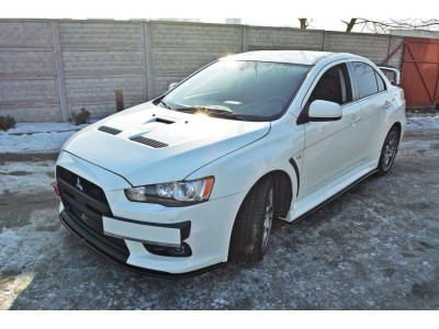 Mitsubishi Lancer EVO 10 MX2 Front Bumper Extension