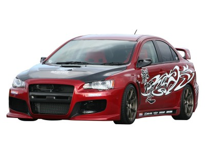 Mitsubishi Lancer EVO 10 R-Style Side Skirts