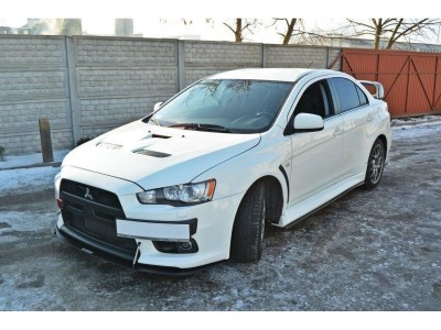 Mitsubishi Lancer EVO 10 Racerline Front Bumper Extension