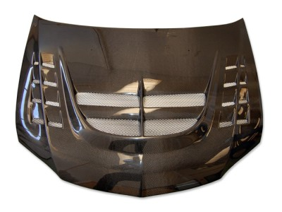 Mitsubishi Lancer EVO 8 Razor Carbon Motorhaube