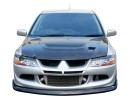 Mitsubishi Lancer EVO 8 Speed Front Bumper Extension