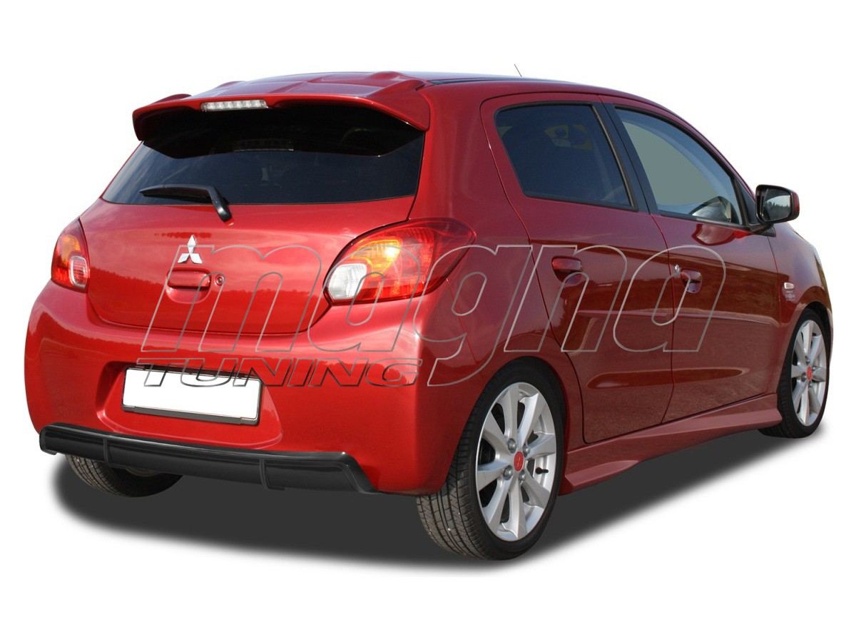Mitsubishi Space Star Speed Rear Bumper Extension