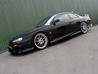 Nissan 200SX S14 S14A J-Style Side Skirts