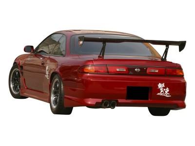 Nissan 200SX Silvia S14 T1 Seitenwandverbreiterung Hinten