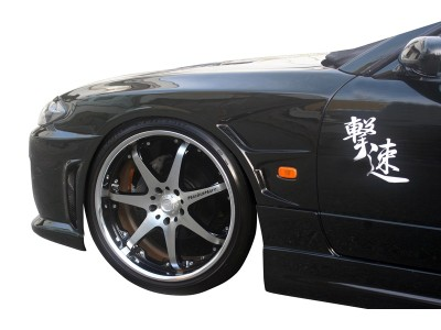 Nissan 200SX Silvia S15 Tokyo Front Wheel Arches