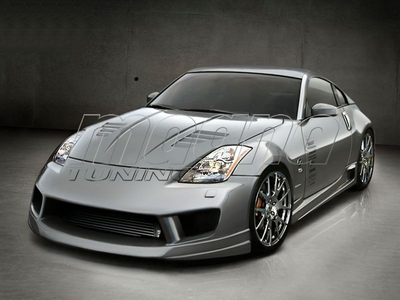 Nissan 350z aggressive body kit publicscrutiny Images