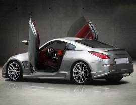 Nissan 350Z Aggressive Rear Bumper Extension