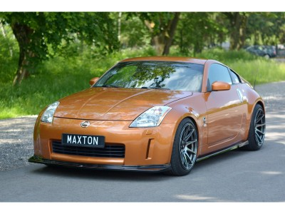 Nissan 350Z MX Front Bumper Extension