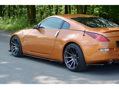 Nissan 350Z MX Side Skirt Extensions
