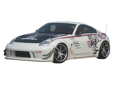 Nissan 350Z T1 Side Skirts