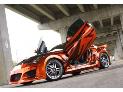 Nissan 350Z Venin Front Wheel Arch Extensions