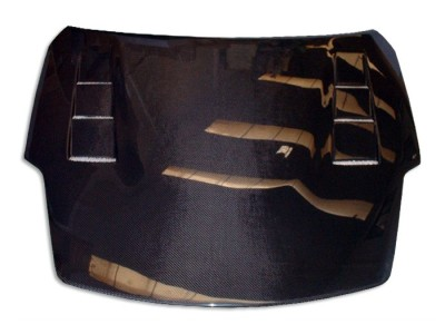 Nissan 350Z Vortex Carbon Fiber Hood