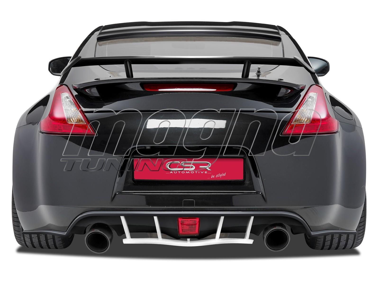 Nissan 370Z Crono Rear Bumper Extension
