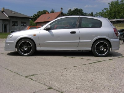 Nissan Almera N16 A2 Side Skirts