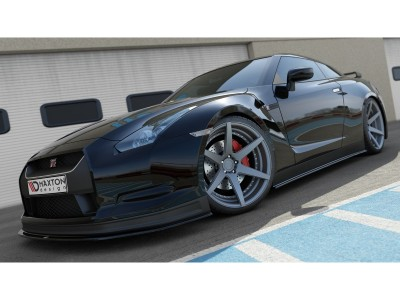 Nissan GTR Matrix Side Skirt Extensions