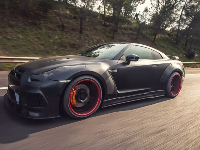 Nissan GTR Wide Body Kit P2