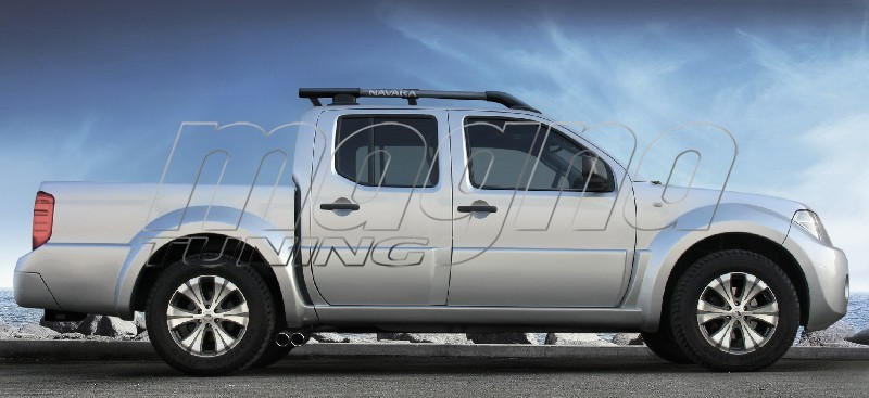 Nissan Navara El-Paso2 Rear Wheel Arch Extensions