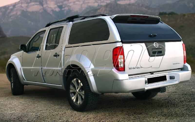 Nissan Navara T2 Rear Door Mouldings