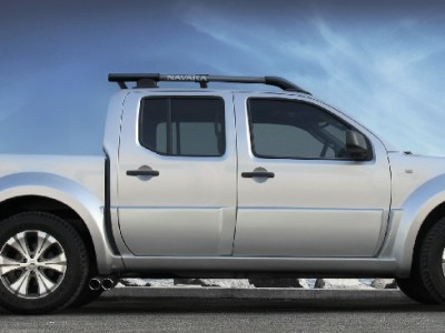 Nissan Navara Tangier Crew Cab Wide Side Skirts