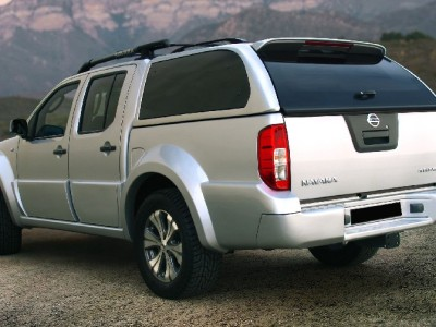 Nissan Navara Tangier Wide Crew Cab Rear Door Mouldings