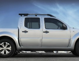 Nissan Navarra El-Paso Front Wheel Arch Extensions