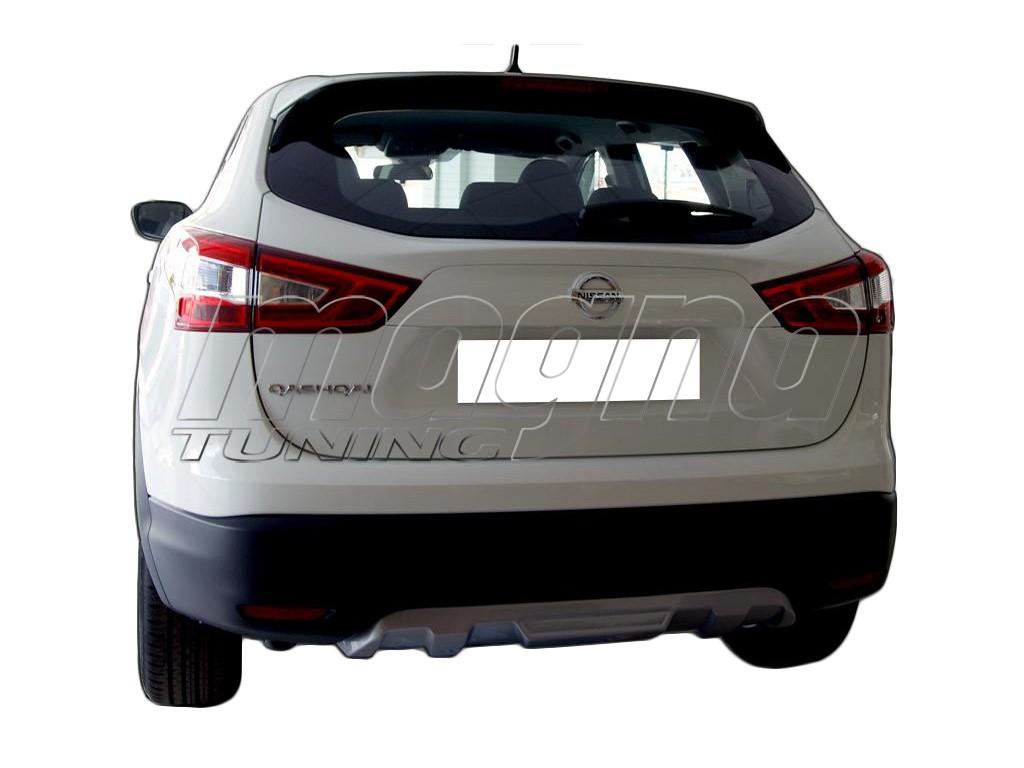Nissan Qashqai MK2 J11 Sport Rear Bumper Extension