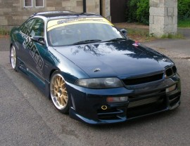 Nissan Skyline R33 GTS J-Style Front Grill
