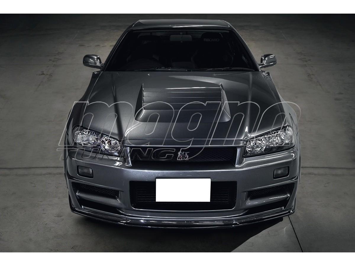 Nissan Skyline R34 Apex Hood