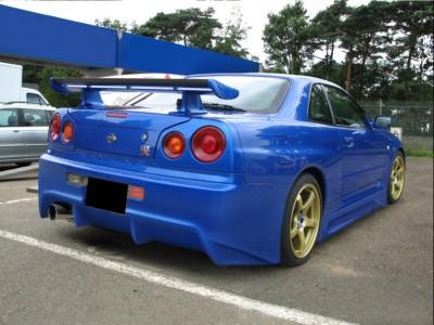 Nissan Skyline R34 GTR Bara Spate J-Style