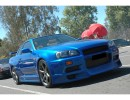 Nissan Skyline R34 GTR J-Style Front Bumper Extension