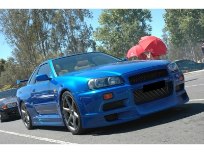 Nissan Skyline R34 GTR J-Style Whole Front Bumper