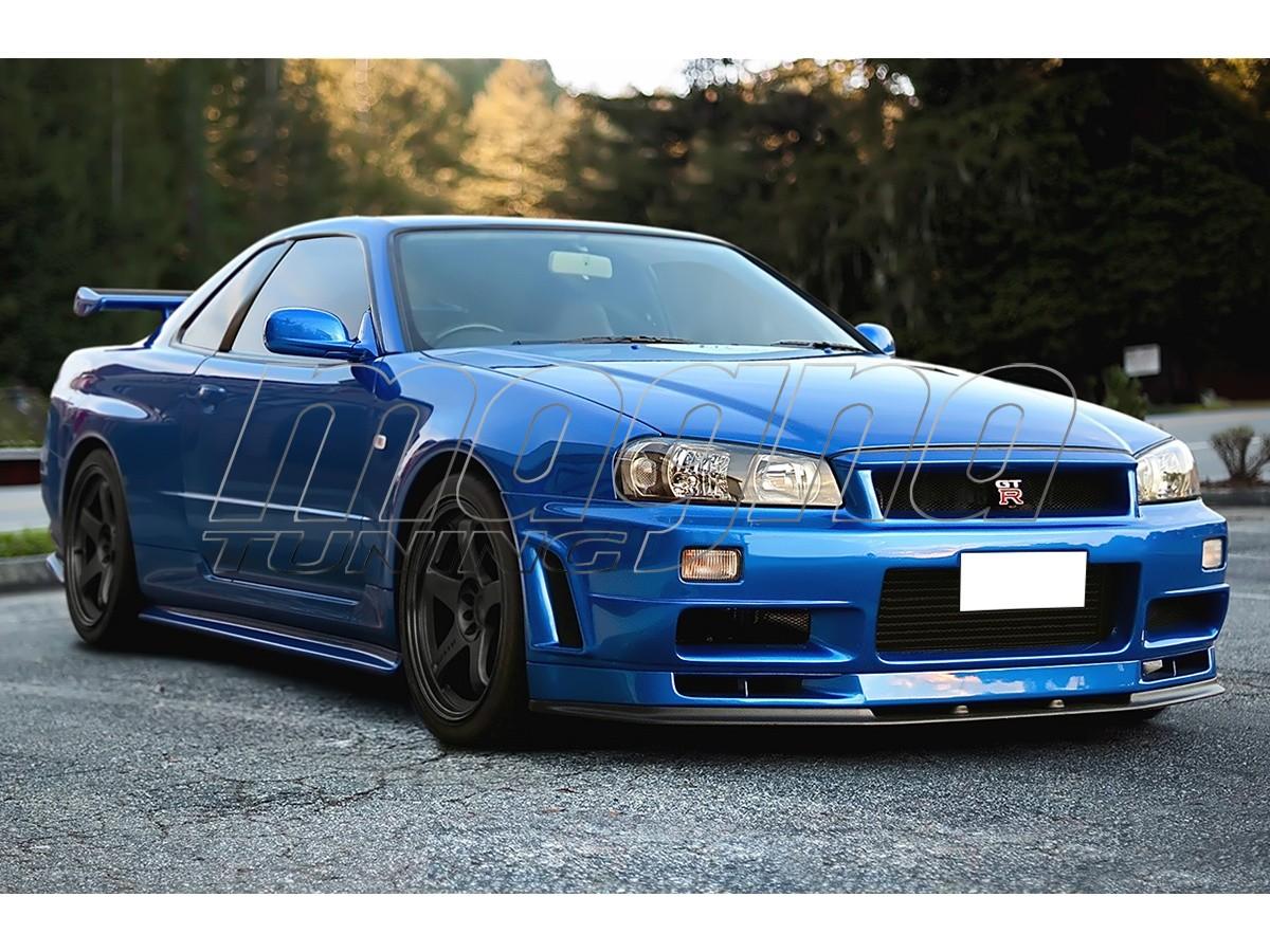 Nissan Skyline R34 Gtt Wide Body Kit Gtr Look
