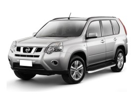 Nissan X-Trail T31 Atos Running Boards