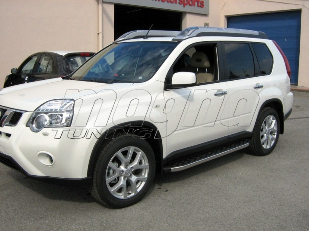 nissan x trail t31 helios running boards. Black Bedroom Furniture Sets. Home Design Ideas