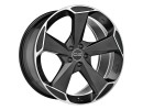 OZ All Terrain Aspen HLT Matt Black Diamond Cut Felge