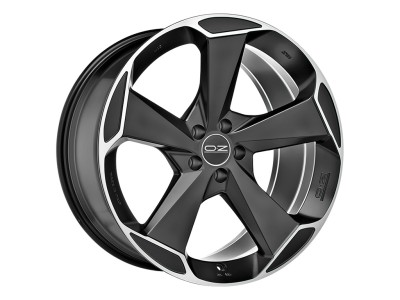 OZ All Terrain Aspen HLT Matt Black Diamond Cut Wheel