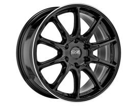 OZ All Terrain HyperXT HLT Offroad Gloss Black Diamond Lip Wheel