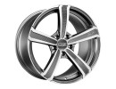 OZ All Terrain Montecarlo HLT Matt Graphite Diamond Cut Wheel